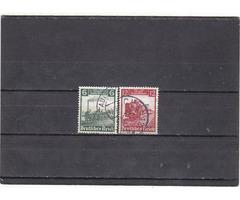 Német birodalom forgalmi bélyegek 1935