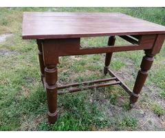 Antik ebédlőasztal