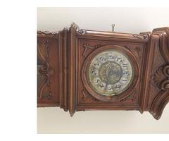 Bécsi barokk álló óra