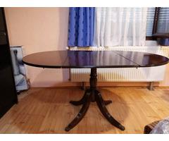 Chippendale stílusú antik szalonasztal