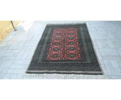 Pakisztáni kéz gyapjú perzsa szőnyeg 130x200 ingyen posta