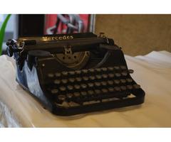 Mercedes írógép