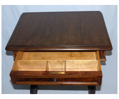 Antik ónémet Tv állvány konzol asztal