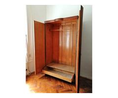 Különleges Art Deco ruhás szekrény
