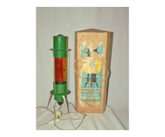 Antik retro orosz Kocmoc láva lámpa ritkaság ipari loft