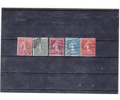 Francia forgalmi bélyegsor 1903