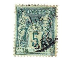 Francia forgalmi bélyeg 1876