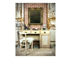 Provence bútor, antikolt író asztal 05.