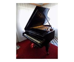 Antik bécsi páncéltőkés zongora