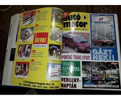 Autó Motor újság 1958-tól 1995-ig keményfedeles!!!