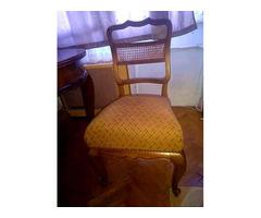 Barokk stílusú 4 db szék
