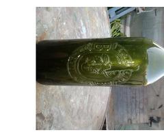 budafokvári boros üveg