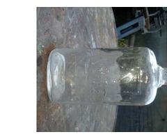 1877 feliratu lapos üveg
