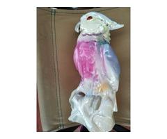 Kakadu porcelán, lámpatest