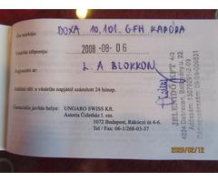 DOXA 10.101 GFH FÉRFI KARÓRA