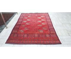 Antik ersari kézi gyapjú perzsa szőnyeg 160x232 ingyen posta MM_126