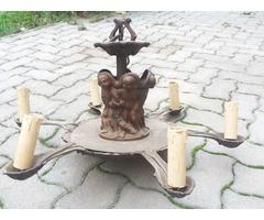 öntött bronz csillár(16kg)