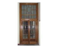 bontott faajtó régi ajtó 154/400 cm
