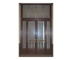 bontott tömör faajtó régi ajtó 215/382