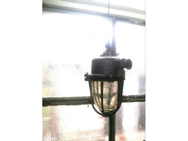 használt ipari lámpa