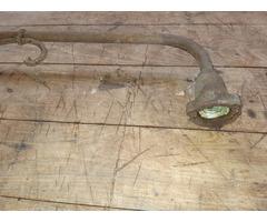 Antik kovácsolt lámpa vas