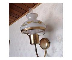 Réz testű falikar lámpa