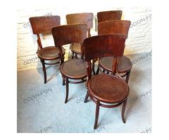 6 db Thonet jellegű szék