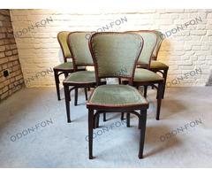 Szecessziós kárpitozott szék 6 db