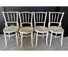 Fehér Thonet szék szett