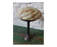 Art-deco asztali lámpa