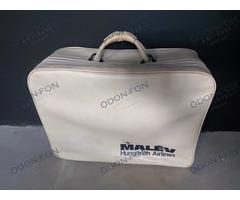 Fehér MALÉV bőrönd