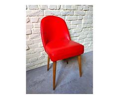 Piros retro szék