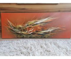"""Ludvig Zoltán """"Magvak"""" c festménye"""