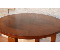 Restaurált Art - Deco Asztal