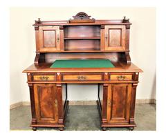 A127 Antik ónémet felépítményes íróasztal