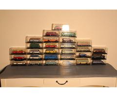 A146 Gyüjteményből régi modell autóbuszok