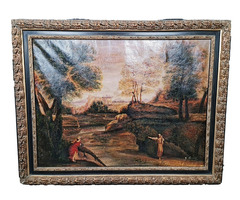 A161 Régi szignós festmény