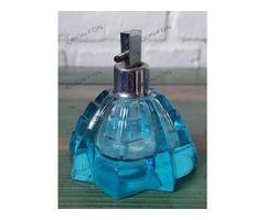 Parfümös üveg világoskék