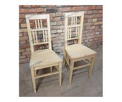 Háttámlás szék pár