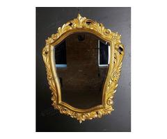 Deltoid formájú florentin jellegű tükör
