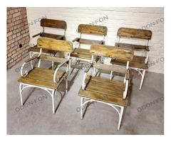 Kerti karfás szék garnitúra (5 db-os)