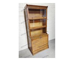 Lingel redőnyös könyvesszekrény