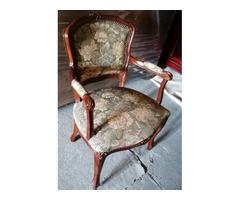 Neobarokk kárpitos szék/fotel...:)