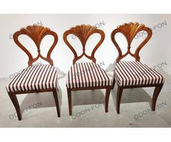 3 db biedermeier szék