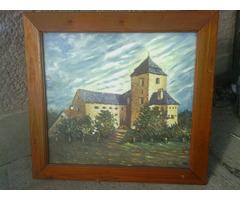 vár-kastély festmény