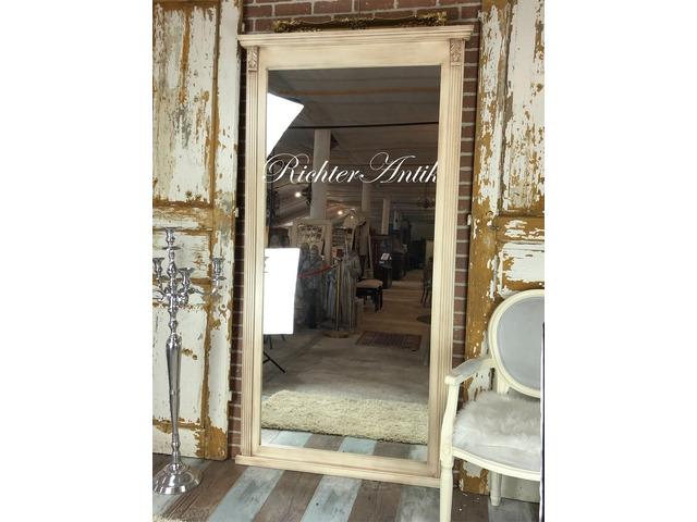 Vintage, antikolt Ónémet álló tükör.