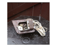 Gramofon működő elektromotor