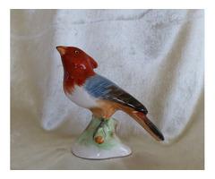 Porcelán madár régi antik darab