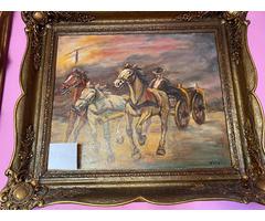 Eladó antik festmények