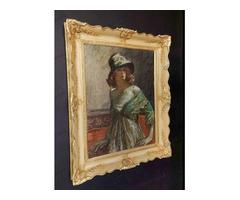 Márk Lajos - Női portré